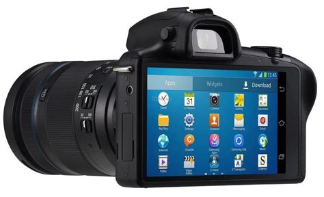 camcorder for android we are tech samsung galaxy nx mirror less android revealed