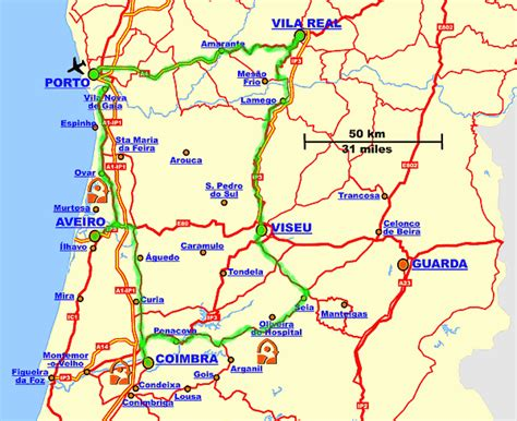 portugal pousadas map pousadas of portugal touring unlimited in porto from the