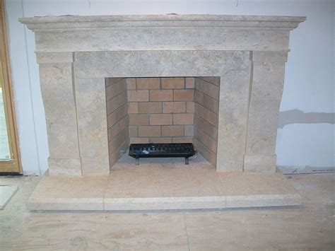Limestone Fireplace by Limestone Fireplaces And Mantels By Architectural