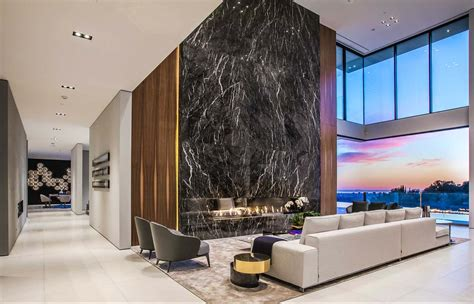 Luxury Modern Home To Be sumptuous luxury modern home with views the la skyline