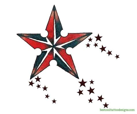 cool star tattoo designs designs flash best cool designs