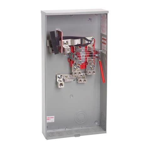 3 terminal l socket milbank 400 amp 4 terminal ringless wireway