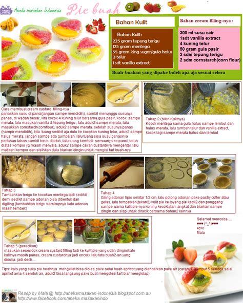 Pie Buah Aneka Snack aneka masakan indonesia resep pie buah