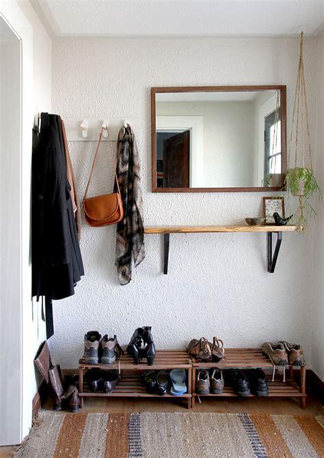 diy coat rack tutorial  inspiration
