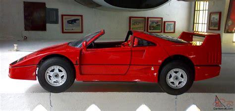 Go Kart Ferrari by 1987 Ferrari F40 Agostini Go Kart