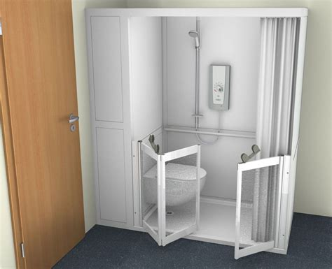 Steam Shower Baths contour showers uk specialists in disabled showers