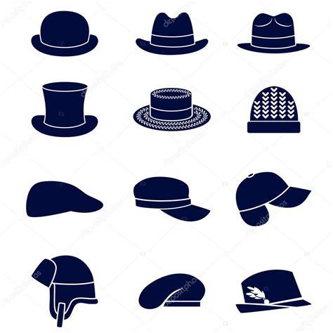different types of hats stock vector 169 ksena shu