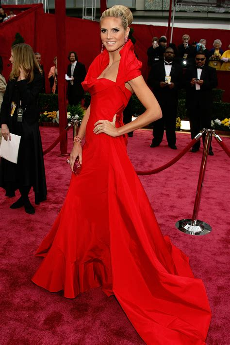 2008 Oscars Best Dressed by Heidi Klum Entertainment News Page 2