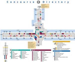 Onsite Car Rental Atlanta Airport Atlanta Airport Terminal E Map