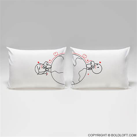 Distance Relationship Pillows by Distance Relationship Pillow Coversboldloft Has No