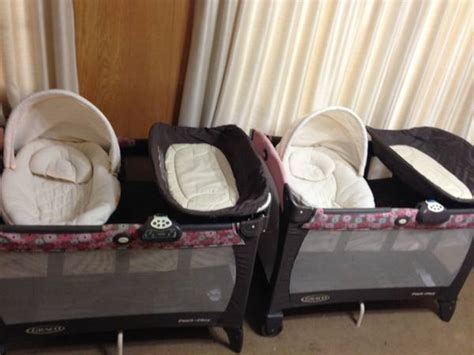 Pink And Brown Graco Pack N Play With Changing Table Graco Pack N Play Portable Playard With Changing Station For Sale