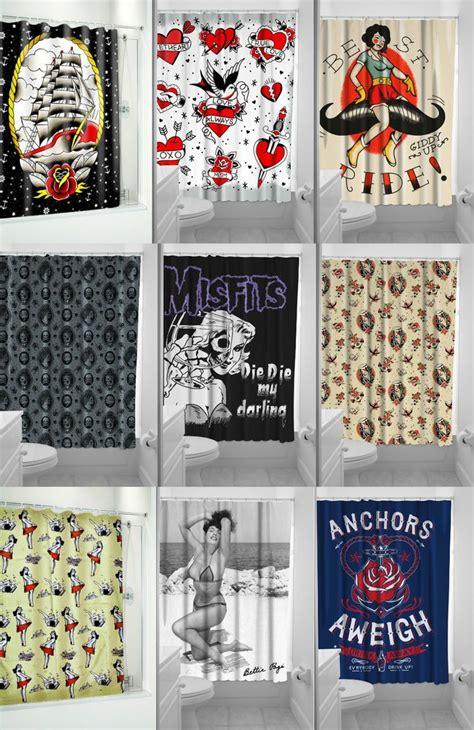 sailor jerry shower curtain 17 best images about inspiration preppy punk on pinterest
