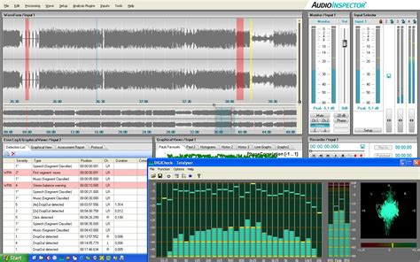 audio file format analyzer audioinspector features
