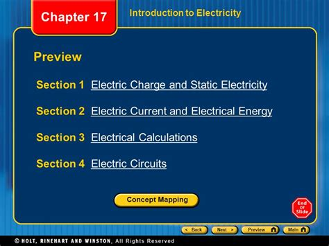 chapter 17 section 2 chapter 17 preview section 1 electric charge and static
