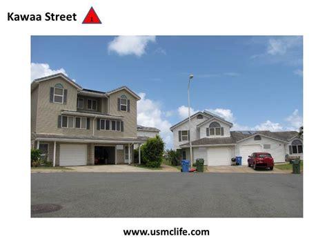 hawaii army base housing kawaa street military housing marine corps base kaneohe bay usmc life