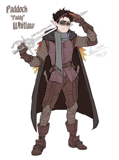 fjord character sheet paddy whitlaw dungeons and dragons character by abd