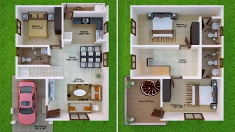 house design 30x50 site house plans for 30x50 site west facing youtube