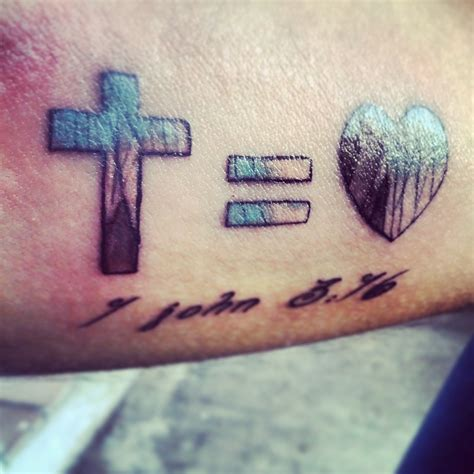 cross love tattoo christian images designs