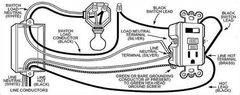 wiring diagram for gfci and light switch wiring diagram