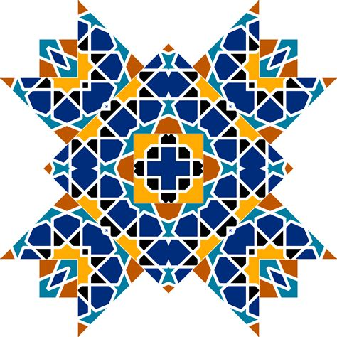 islamic pattern clipart clipart islamic geometric tile 3