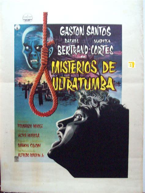 Usd Mba Course Catalog by Quot Misterios De Ultratumba Quot Poster Quot Misterios De