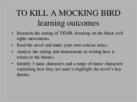 list of themes of to kill a mockingbird to kill mockingbird character quotes quotesgram