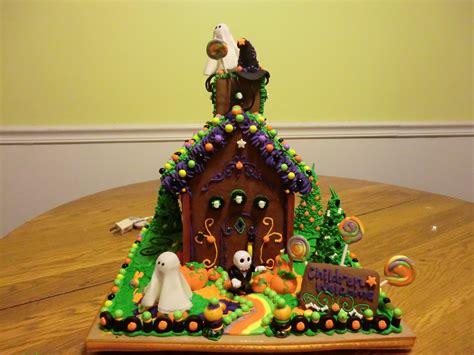 themes gingerbread house ideas halloween gingerbread house ideas