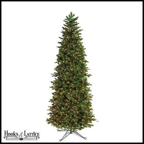 pre lit tree lights 7 5 ft noble pre lit fir artificial tree w