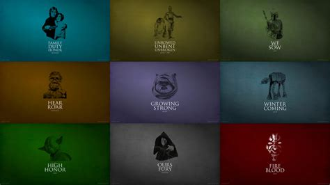 house of clones a game of clones star wars vs game of thrones mashup wallpaper