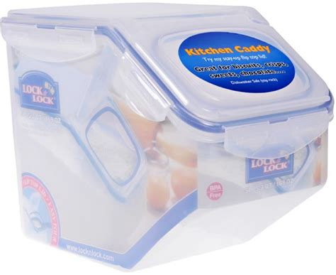 lock lock food container 5 liter with plastic lid