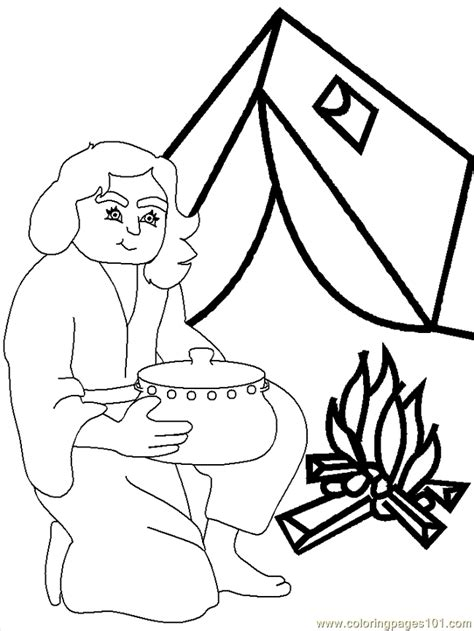 bible coloring pages jacob and esau jacob and esau bible coloring page free jacob and esau