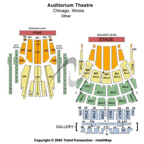 theater chicago seating capacity auditorium theatre tickets in chicago illinois auditorium