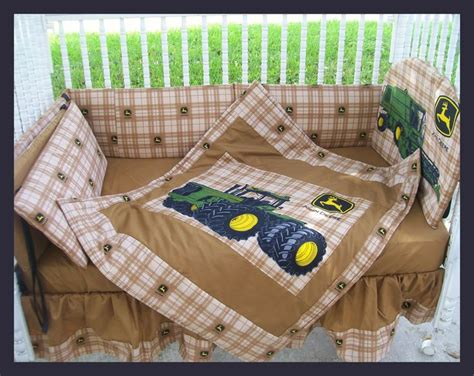 john deere toddler bedding new john deere baby crib bedding set made w new brown