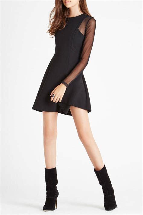 Mesh Sleeve Dress bcbgeneration mesh sleeve dress from by high