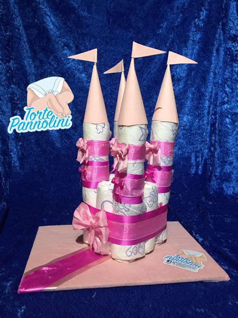 di pannolini di pannolini rosa torte pannolini