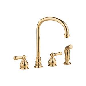 polished brass kitchen faucets shop kitchen sink faucets at lowes