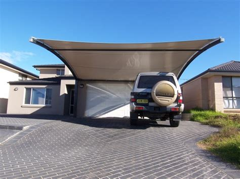 Attached Garage Designs shade sails shade structures tension structures