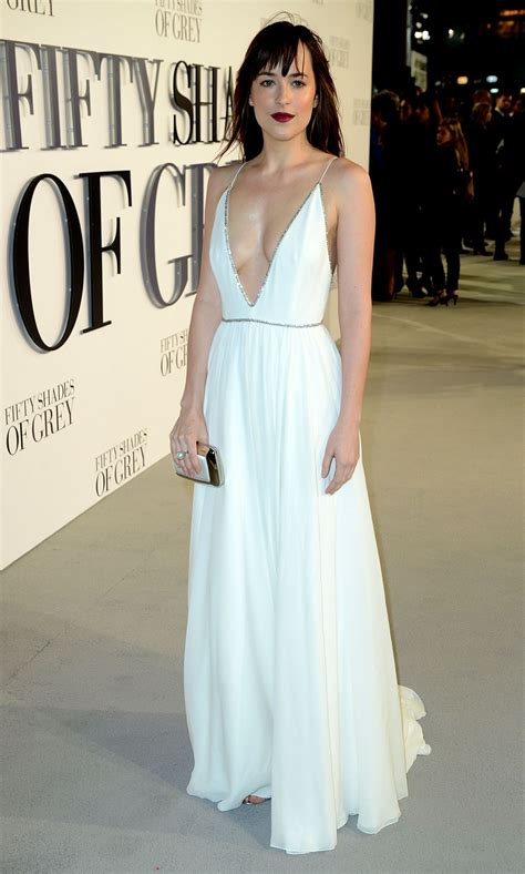 fifty shades of grey film premiere london dakota johnson at fifty shades of grey premiere in london