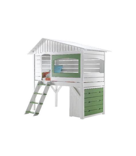 lit cabane bas meuble en bois bas rangement pour chambre 224 coucher enfant