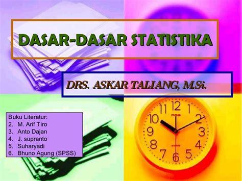 Buku Dasar Dasar Hukum Waris Hukum 1 dasar dasar statistika