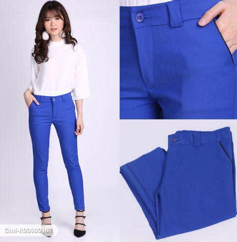 Celana Pendek Santai Hangout yuk stay update dengan 5 jenis celana panjang wanita berikut ini adzkia