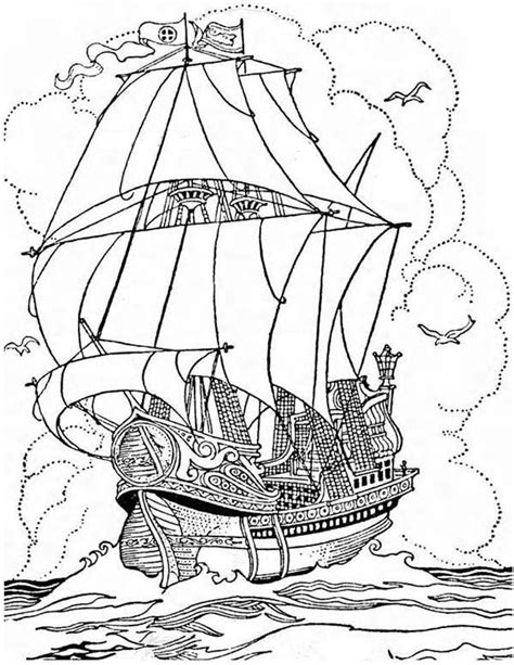 coloring book for relaxation sailing ships books 339 best images about colouring pages on