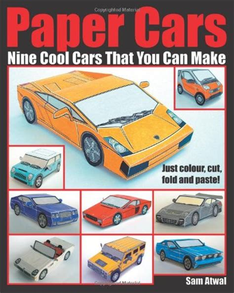 How To Make A Paper Model Car - paper cars