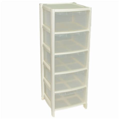 plastic storage drawers on wheels 5 drawer plastic large tower storage drawers chest unit