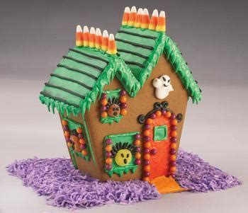 haunted gingerbread house kit halloween gingerbread house kit baking bites