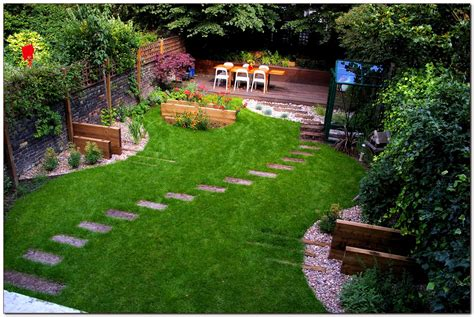 Garden Ideas Pictures Awesome Small Backyard Landscape Ideas Garden Landscaping For With Stairway Amazing Of Gardening