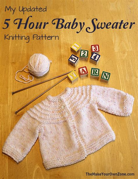 knit pattern one piece sweater another 5 hour baby sweater knitting pattern
