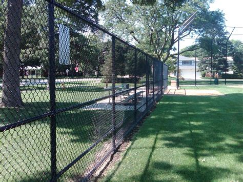 fenced park vinyl park fence cardinal fence supply inc