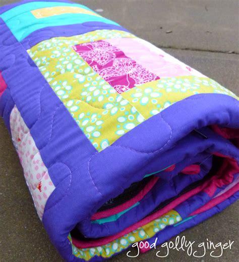 golly a sleeping bag quilt