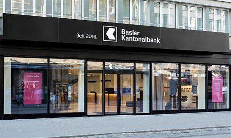 zinssatz bank basler kantonalbank tiefere erwartungen f 252 r pensionierte